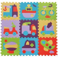 Baby Great Habszivacs szőnyeg puzzle - Járművek Előnézet