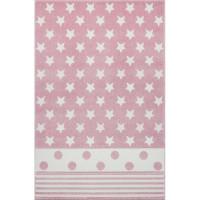 STARPOINT pöttyös szőnyeg 120 x 180 cm - rózsaszín