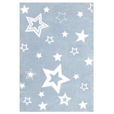 STARLIGHT csillagos szőnyeg 160 x 230 cm - kék/fehér Előnézet