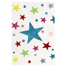 Stars csillagos szőnyeg 120 x 180 cm - krém/multicolor Előnézet