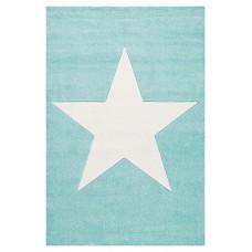 STAR csillagos szőnyeg 80 x 150 cm - menta Előnézet
