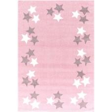 BORDERSTAR csillagos szőnyeg 160 x 230 cm - rózsaszín