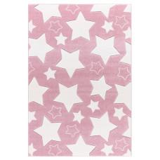SKY csillagos szőnyeg 100 x 160 cm - rózsaszín Előnézet