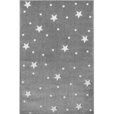 HEAVEN csillagos szőnyeg 120 x 170 cm - szürke/fehér Előnézet