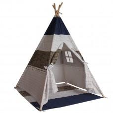 Teepee Mississippi gyerek sátor - szürke Előnézet