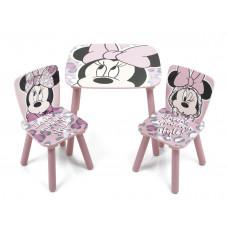 Gyerekasztal székekkel Minnie egeres 3 Előnézet