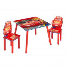 Gyerekasztal székekkel - Verdák piros Előnézet