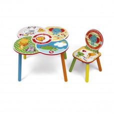 FISHER PRICE gyerekasztal székkel Előnézet