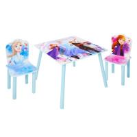 Gyerekasztal székekkel Jégvarázs - Frozen 2