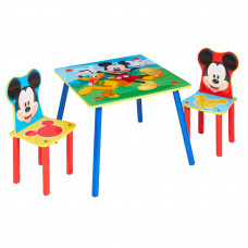 Gyerekasztal székekkel - Mickey egeres színes Előnézet