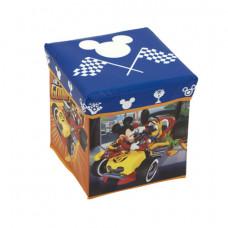 Játéktároló doboz és puff Mickey egér és Plútó Előnézet