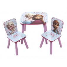 Gyerekasztal székekkel Jégvarázs Frozen - Lila Előnézet