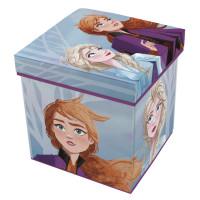 Játéktároló doboz és puff Jégvarázs Frozen