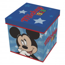 Játéktároló doboz és puff Mickey egér  Előnézet