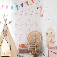 DEKORNIK Flamingo mintás tapéta 50 x 280 cm