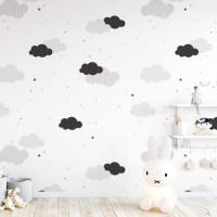 DEKORNIK Cloud felhő mintás tapéta 50 x 280 cm