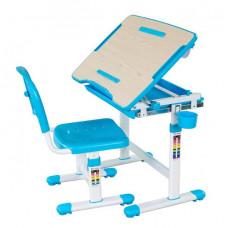FUN DESK Bambino Gyerek íróasztal székkel - kék Előnézet