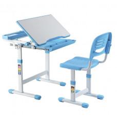 FUN DESK CANTARE Gyerek íróasztal székkel - kék Előnézet