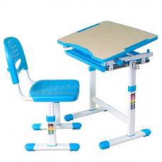 FUN DESK PICCOLINO Gyerek íróasztal székkel - kék Előnézet
