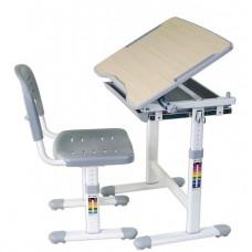 FUN DESK PICCOLINO Gyerek íróasztal székkel - szürke Előnézet