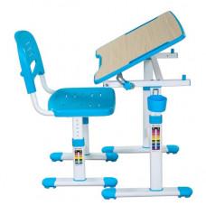 FUN DESK PICCOLINO ll Gyerek íróasztal székkel - kék Előnézet