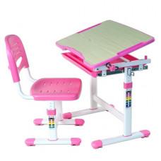 FUN DESK PICCOLINO Gyerek íróasztal székkel - rózsaszín Előnézet