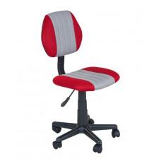 FUN DESK Gyerek íróasztalhoz való szék állítható magassággal LST4 - szürke / piros Előnézet