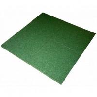 Sport gumilap burkolat 100x100cm 2cm vastag - zöld