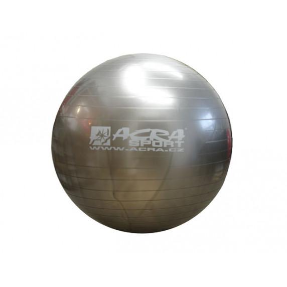 ACRA Gimnasztikai labda 65 cm - ezüst