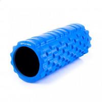 Fitnesz masszírozó henger SPOKEY TEEL II - kék