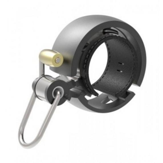 Kerékpár csengő Knog OI BELL LUXE fekete - kicsi