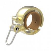Kerékpár csengő Knog OI BELL LUXE arany - kicsi