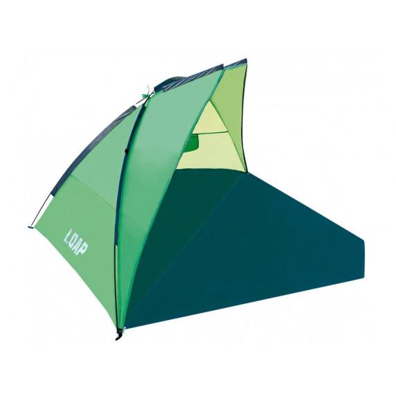 Árnyékoló strandsátor LOAP Beach Shelter M - zöld