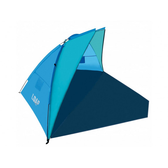 Árnyékoló strandsátor LOAP Beach Shelter M - kék