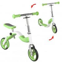 Roller és futóbicikli 2az1-ben Inlea4Fun ANLEN - zöld