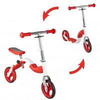 Roller és futóbicikli 2az1-ben Inlea4Fun ANLEN - piros