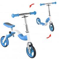 Roller és futóbicikli 2az1-ben Inlea4Fun ANLEN - kék