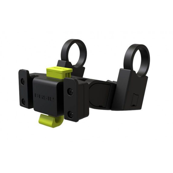 Kerékpár kosár rögzítő adapter BASIL KF Pro system Klick-fix - 70177