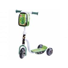 Spokey Dino háromkerekű roller - zöld Előnézet