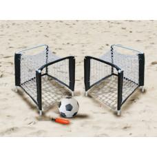 MASTER Mini strandfoci kapu szett labdával 25 x 25 x 38 cm Előnézet