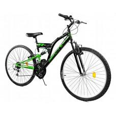 """GOETZE CORE férfi kerékpár 24"""" - fekete/zöld Előnézet"""