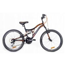 """Kerékpár Adventure  26"""" - fekete/narancssárga Előnézet"""