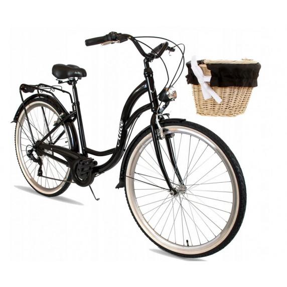 """Női kerékpár ALICE  28"""" - fekete"""