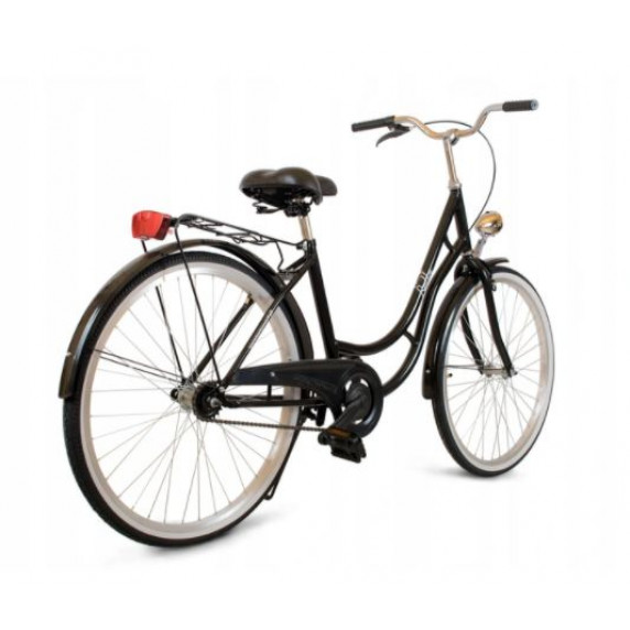 """Női kerékpár 26"""" Goetze BELLA- fekete"""