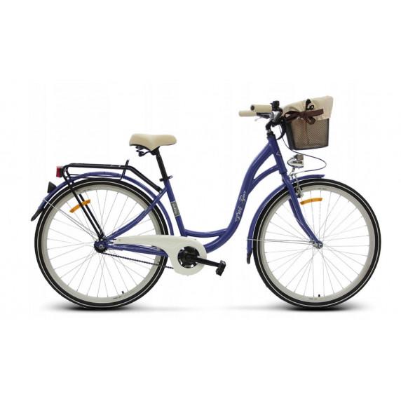 "Női kerékpár 26"" Goetze BUTTERFLY- lila"