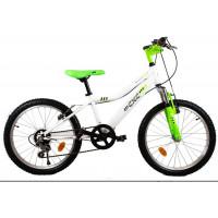 """Gyerek bicikli CXC Amor 20"""" - fehér/zöld"""
