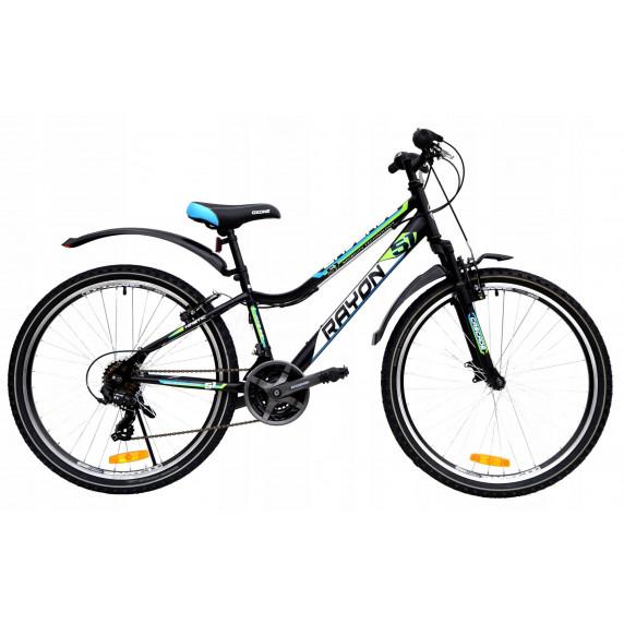 """Férfi kerékpár RAYON CASCADE 26"""" - zöld/kék"""