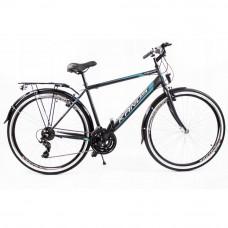 """KANDS Galileo Men férfi kerékpár 28"""" - fekete/kék Előnézet"""