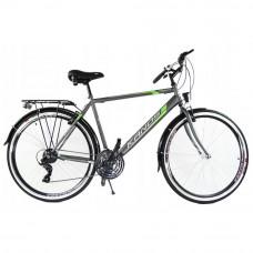 """KANDS Galileo Men férfi kerékpár 28"""" - szürke/zöld Előnézet"""