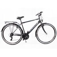 """KANDS Galileo Men férfi kerékpár 28""""  - fekete/szürke"""